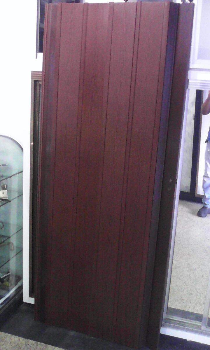 Puertas plegables nuevas 12mm pre armada a medida en for Puertas a medida
