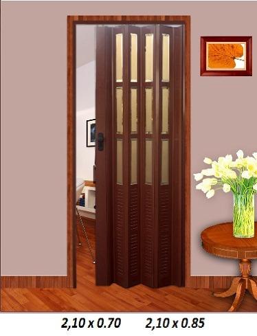 Puertas plegables para interiores en mercado for Puertas madera para interiores