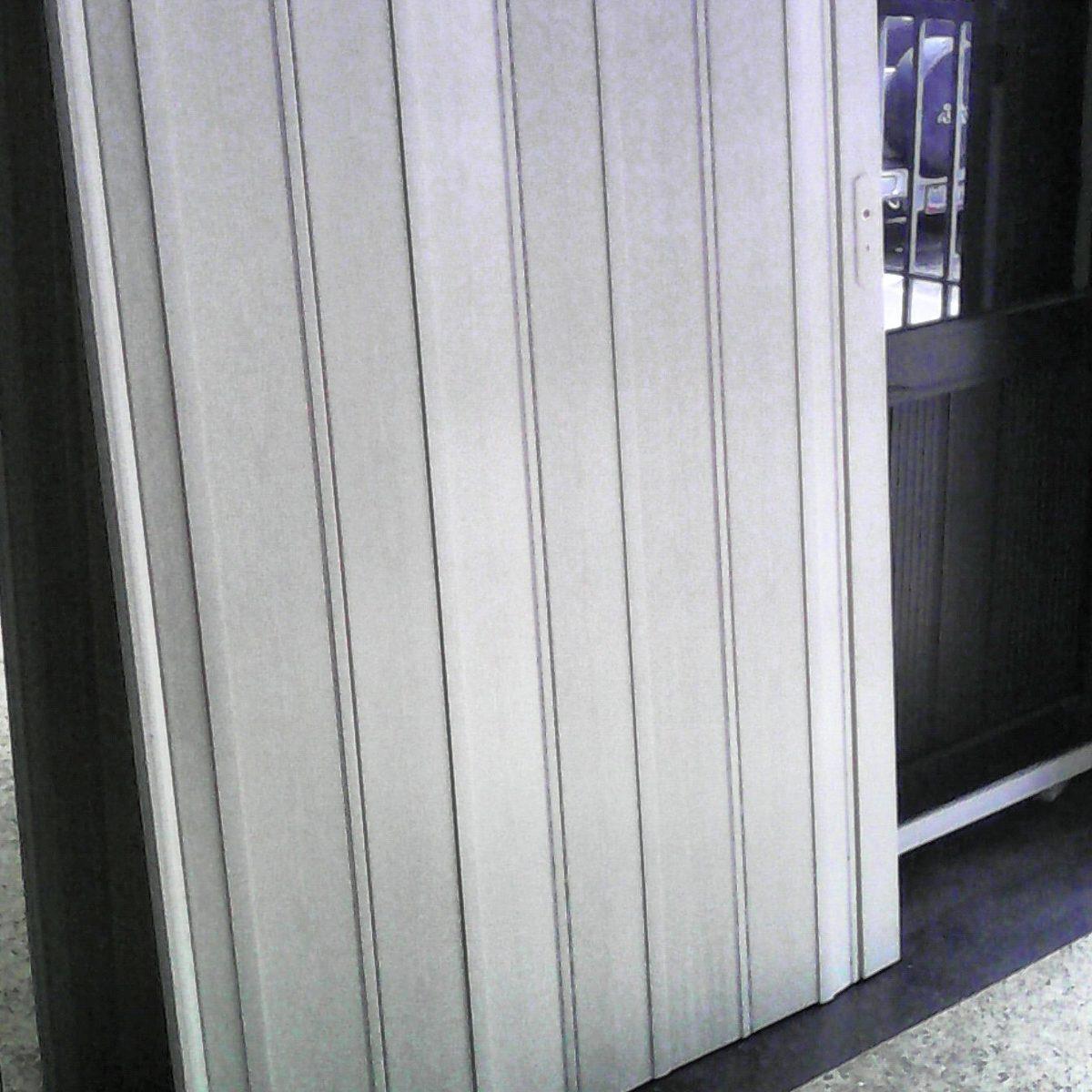 Puertas plegables tipo acorde n 12mm pre armada a medida en mercado libre - Puertas plegables a medida ...