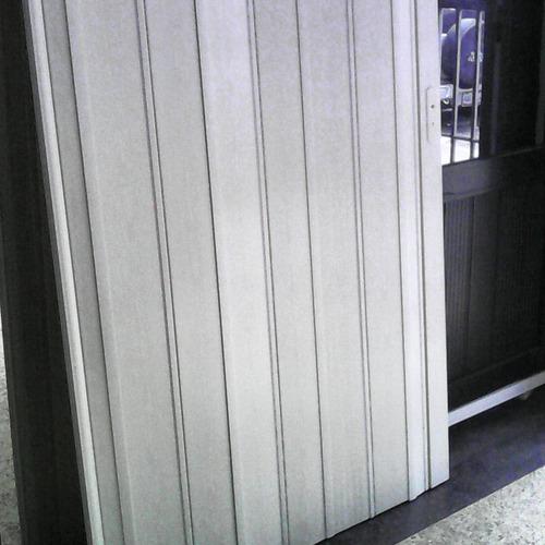 puertas plegables tipo acordeón 12mm pre armada a medida