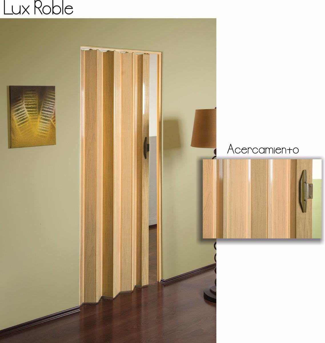 Puertas plegadizas de pvc imitacion madera 2 en for Puerta corrediza pvc