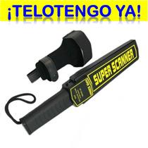 Detector De Metal Super Scaner Portátil ¡gran Oferta!