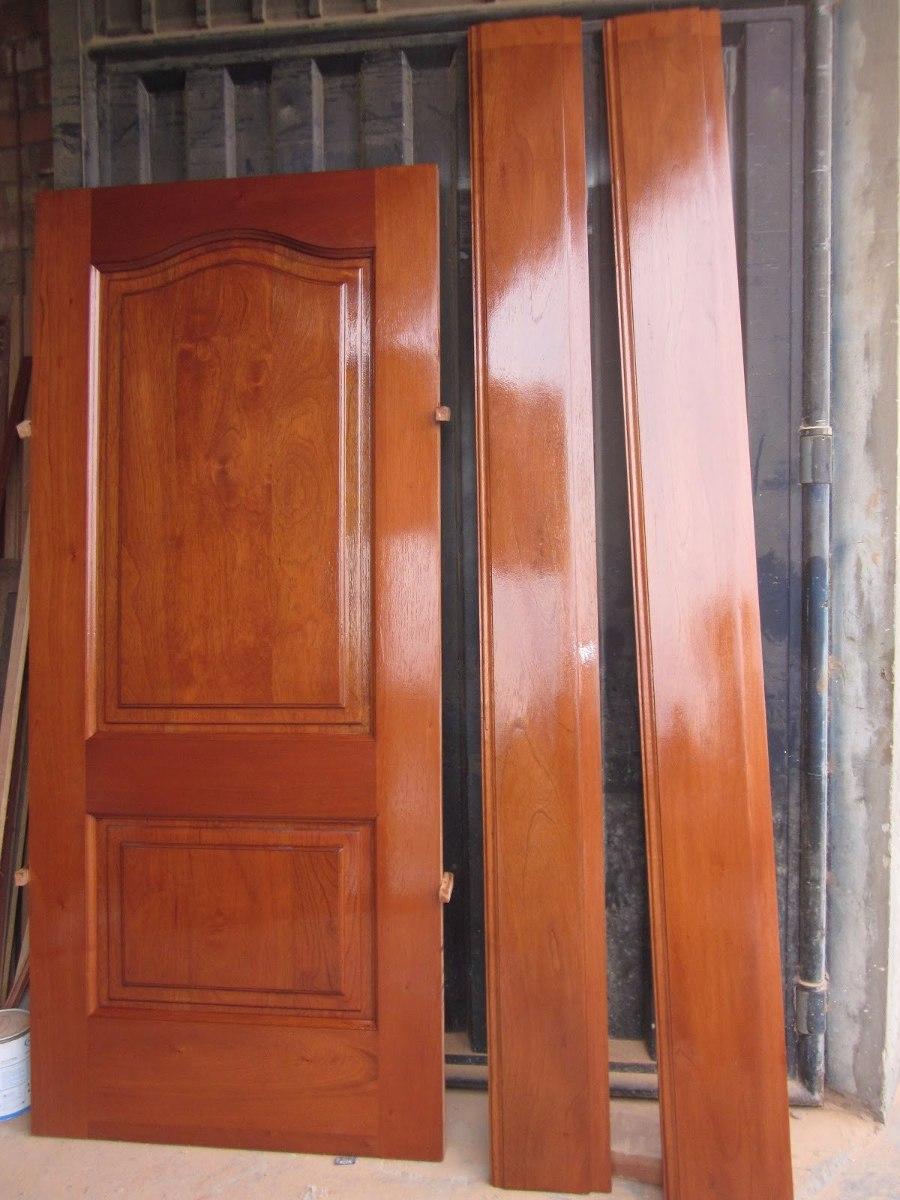 Puertas principal de cedro s en mercado libre for Descripcion de puertas de madera