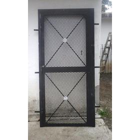 Puertas Rejas De Malla De Acero Reforzada A Medida1