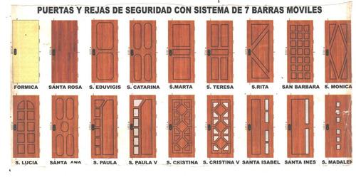 puertas rejas y portones de hierro ( puertas blindadas)