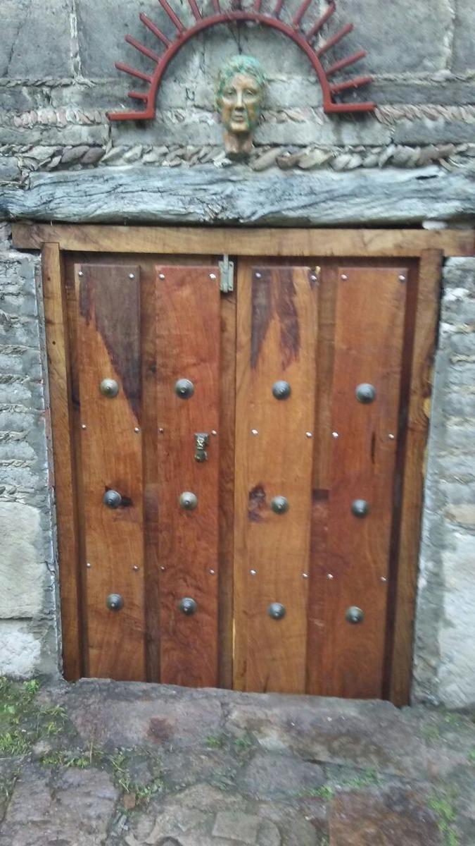 Puertas rusticas madera de mezquite 25 en for Puertas rusticas de madera interior