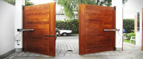puertas seccionales, levadizas ,batientes, corredizos