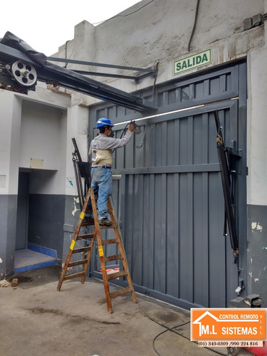 puertas seccionales - levadizas - corredizas- batientes