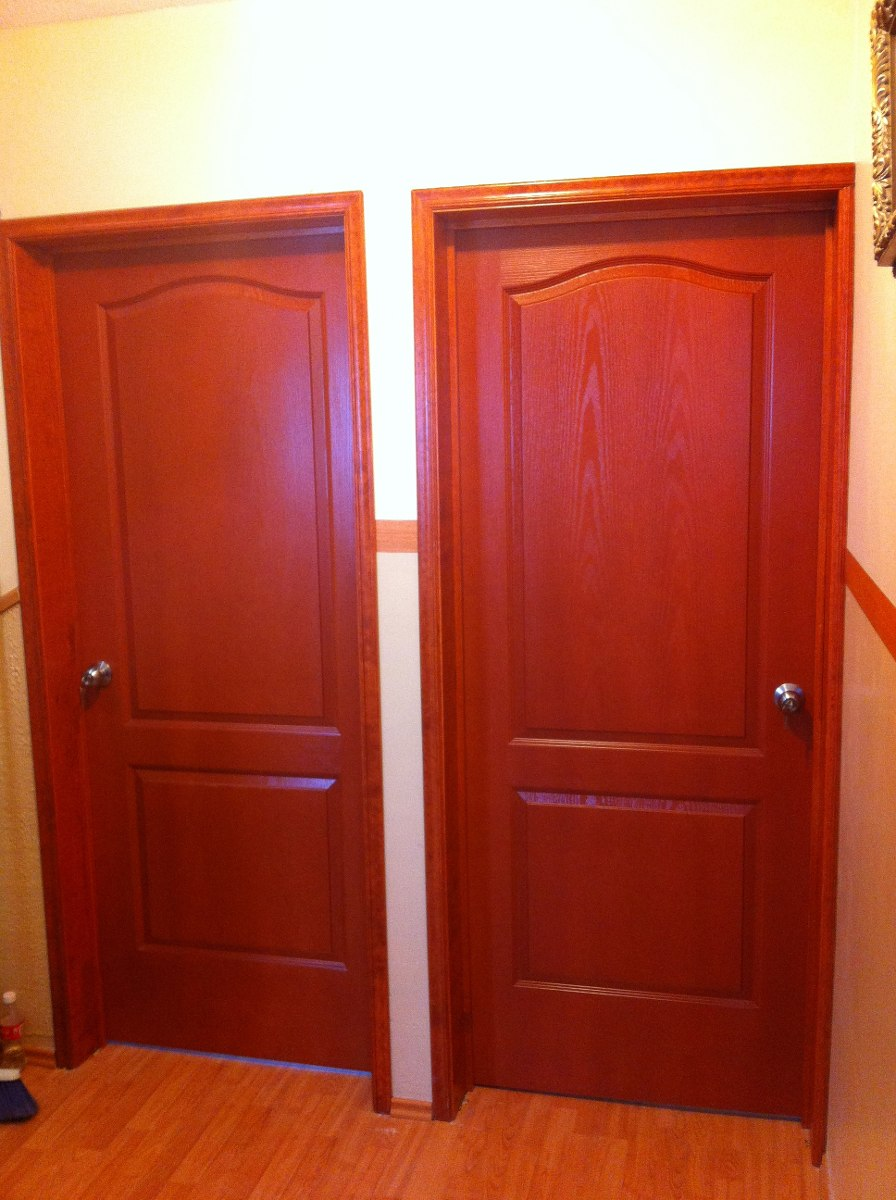 Puertas sobre dise o y acabados en madera 3 en for Remate de puertas de madera