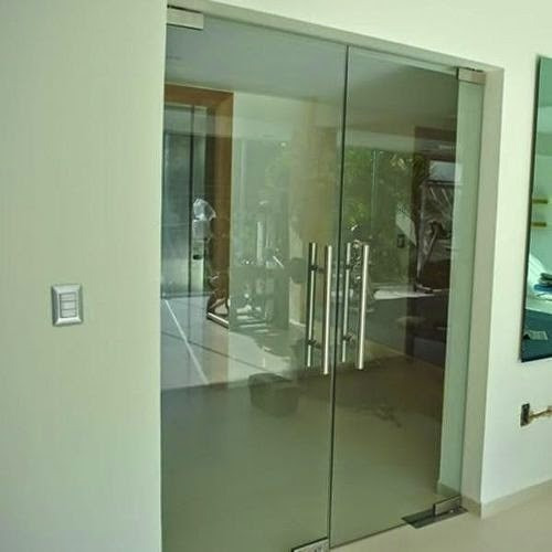 Puertas templex bancarias para locales y oficinas bs 1 for Puertas de cristal para oficina