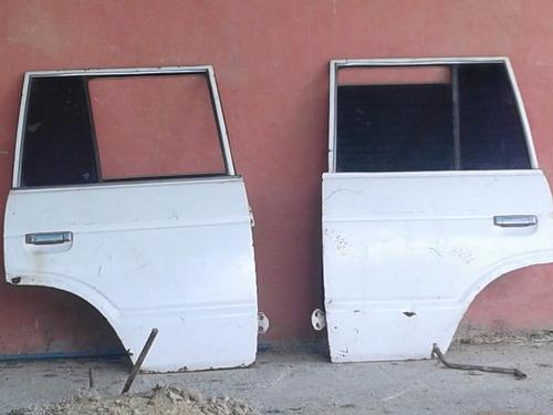 puertas traseras de camioneta samurai
