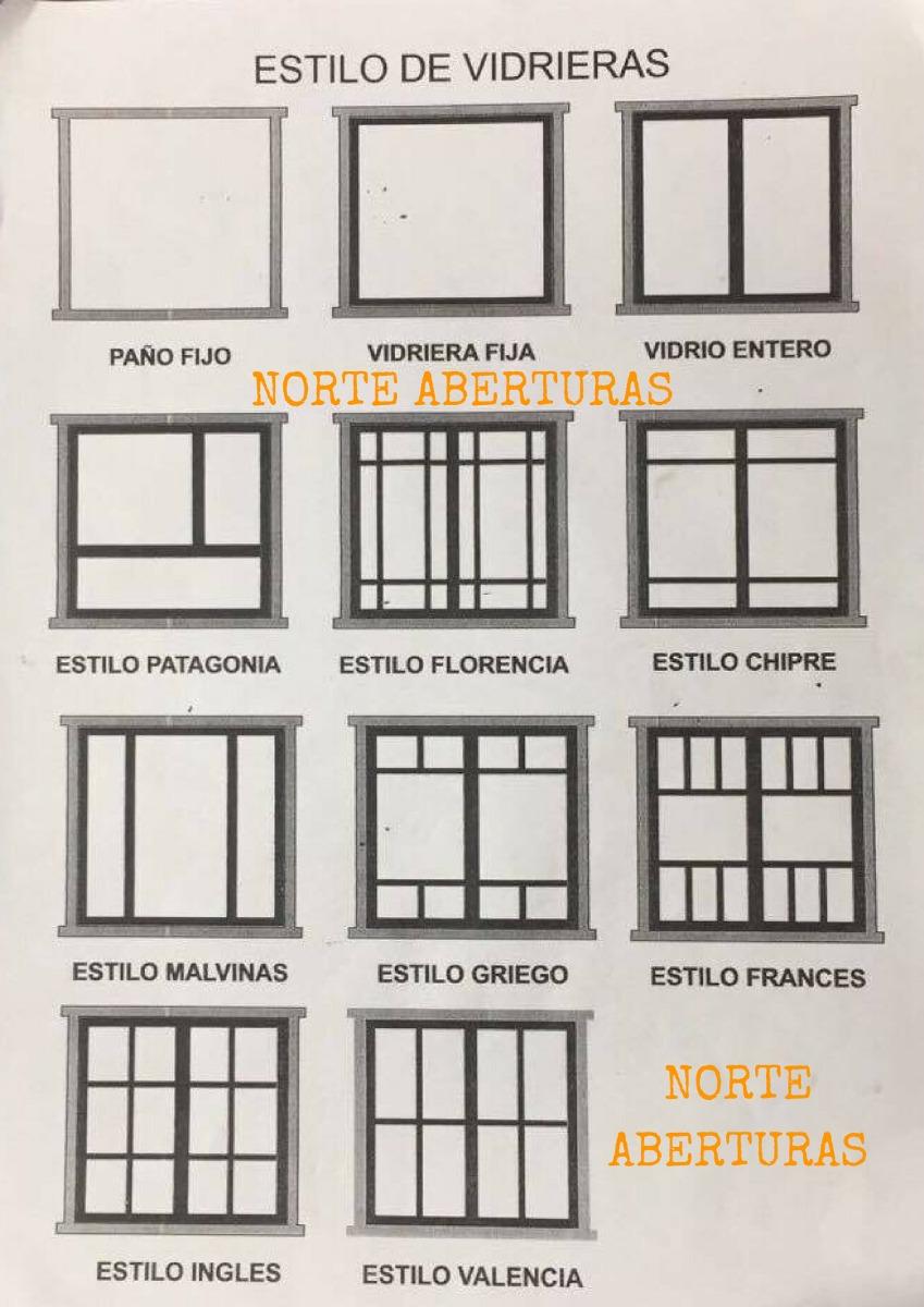 Puertas ventanas madera estandar o a medida en mercado libre for Ventana balcon medidas