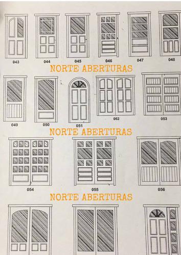 puertas ventanas madera estandar o a medida