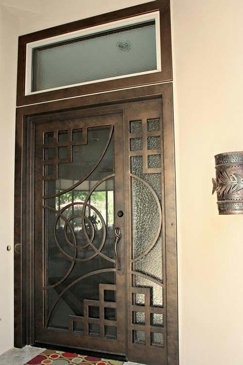 Puertas ventanas protecciones zaguanes herrer a gral for Ventanas de aluminio color bronce