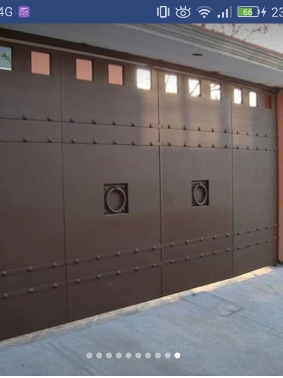Puertas Ventanas Protecciones Zaguanes Herrer A Gral