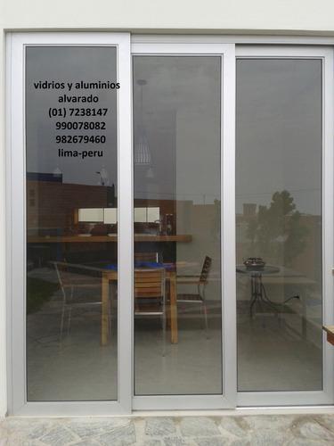 puertas vidrio mamparas ventanas puertas de baño  982679460
