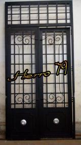 Puerta Ventana Madera Vidrio Repartido Aberturas Puertas Es Apta
