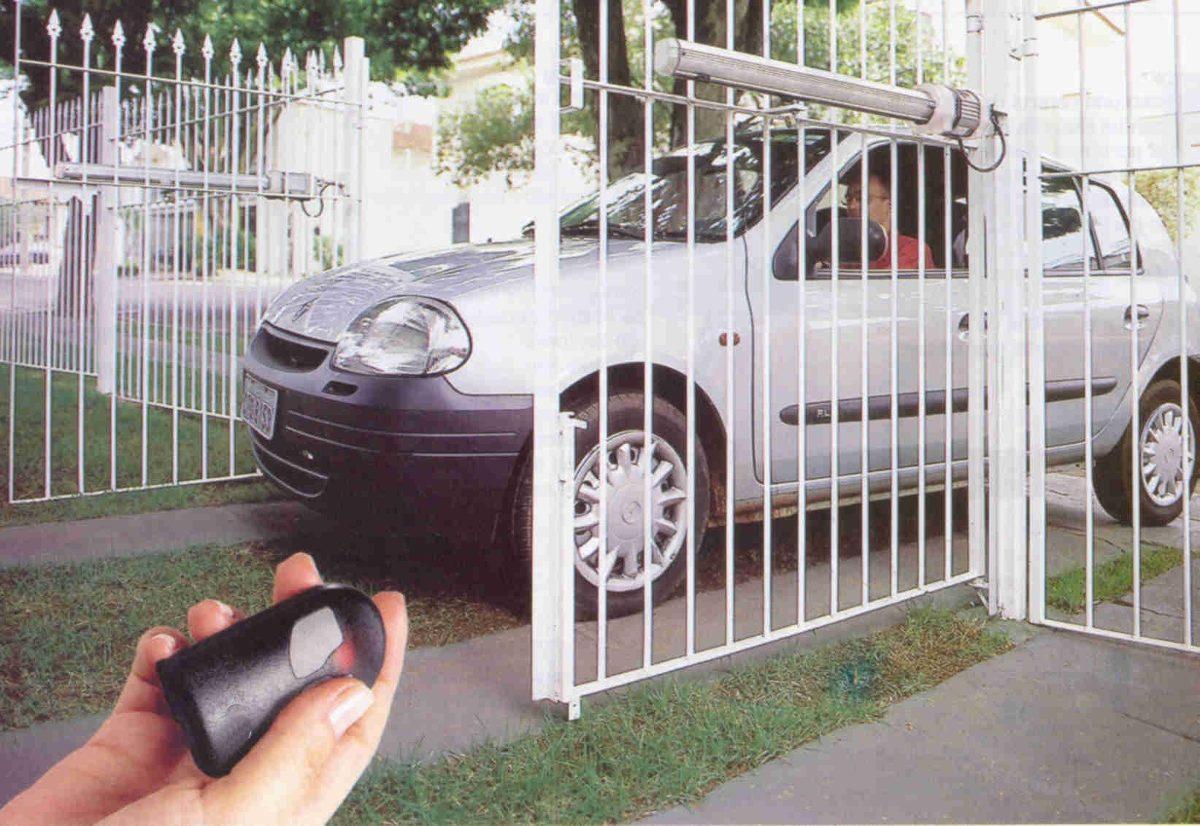 Puertas y portones automaticos abatibles 7 en mercado libre - Puertas para cocheras electricas ...