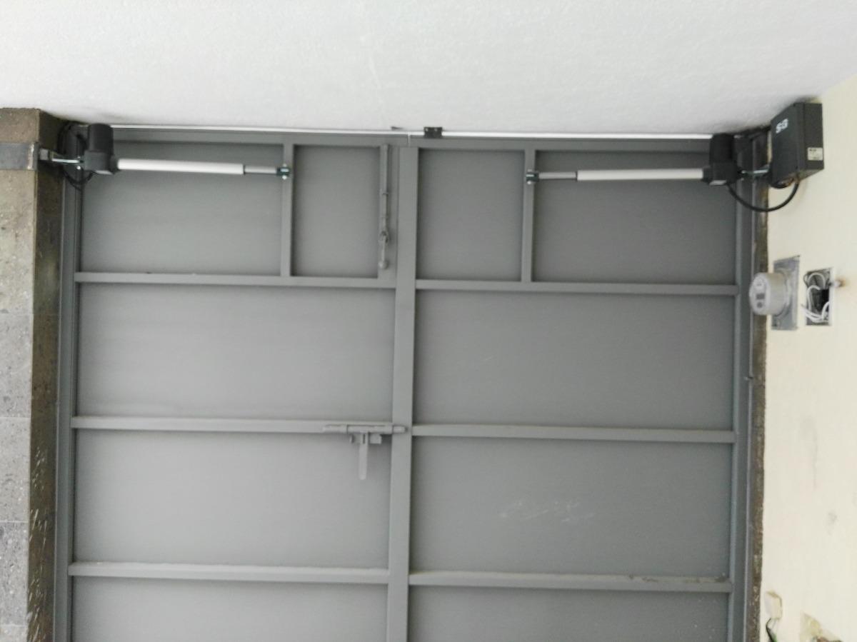 Puertas y portones automaticos abatibles con instalacion Portones automaticos