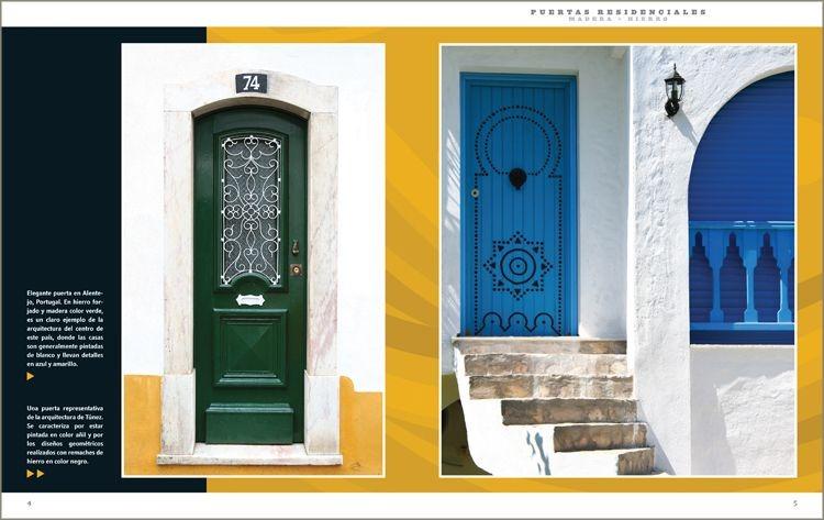 Puertas y portones residenciales madera hierro daly for Puertas y portones de madera