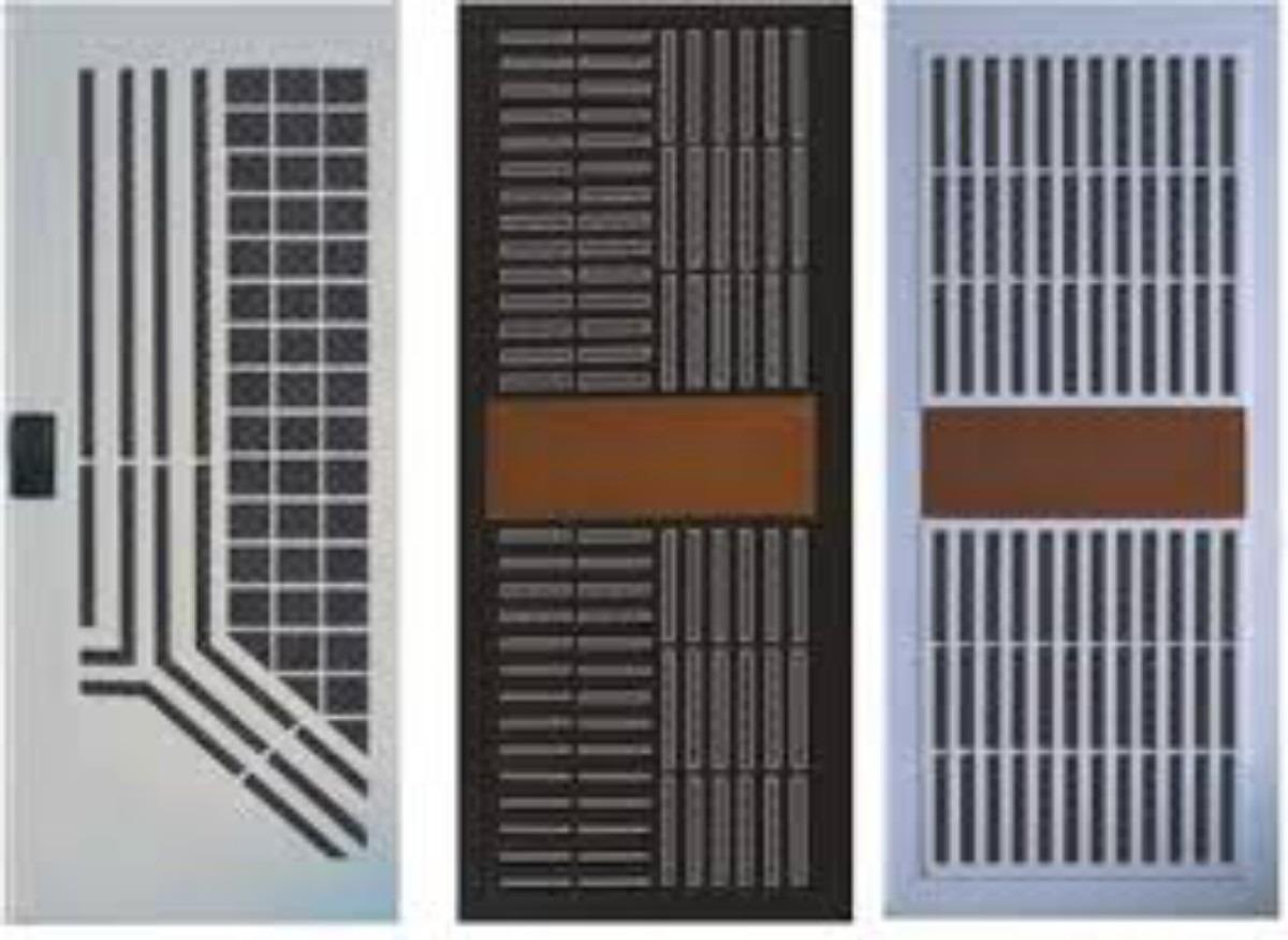 Puertas y rejas de seguridad multlook herreria en general for Modelos de rejas de fierro para puertas