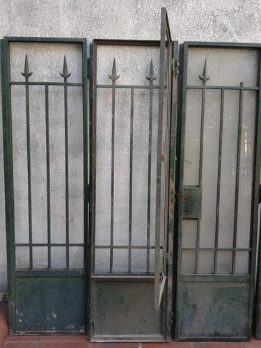 puertas/portones/demolicion/ventanas hierro y cedro macizo
