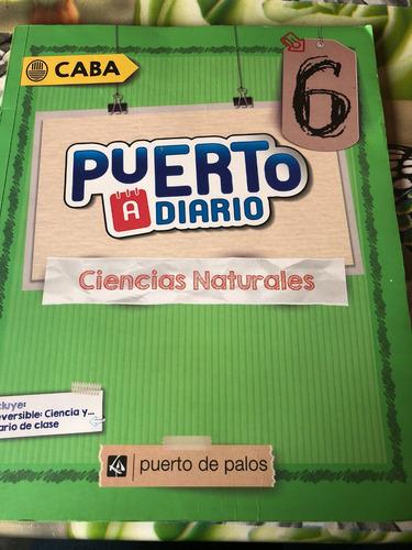 puerto a diario 6- ciencias naturales
