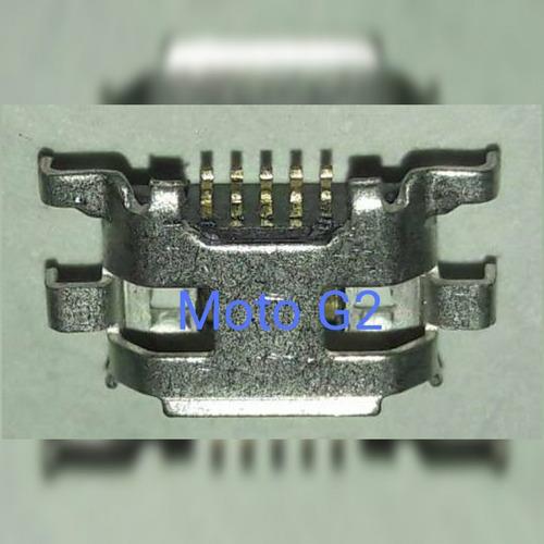 puerto de carga moto g 2 original