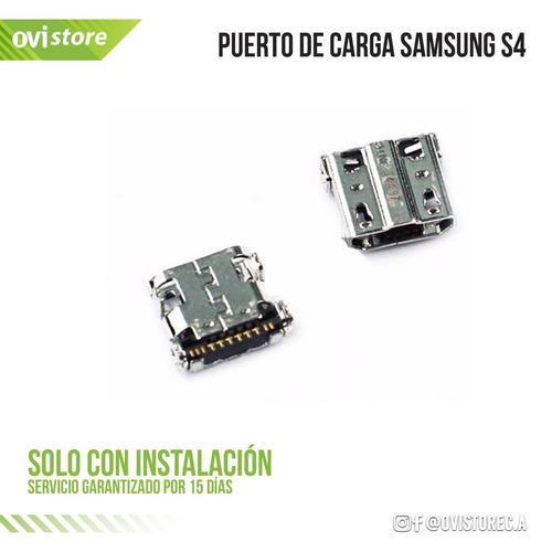 puerto de carga samsung s4  / note ii solo instalado