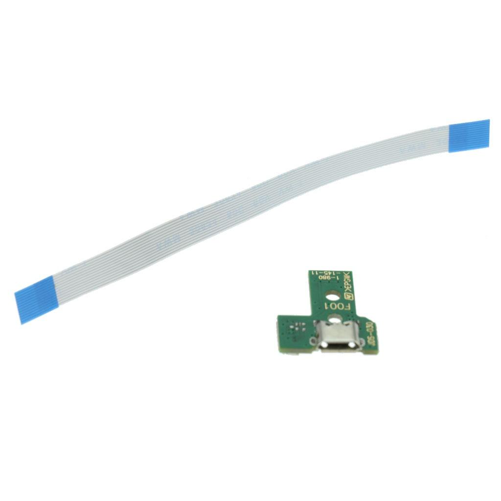 Circuito Flexible Ps4 : Puerto de carga usb puerto placa de circuito pin para son