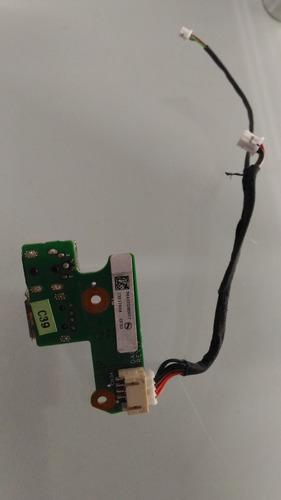 puerto jack de carga portátil compaq f500