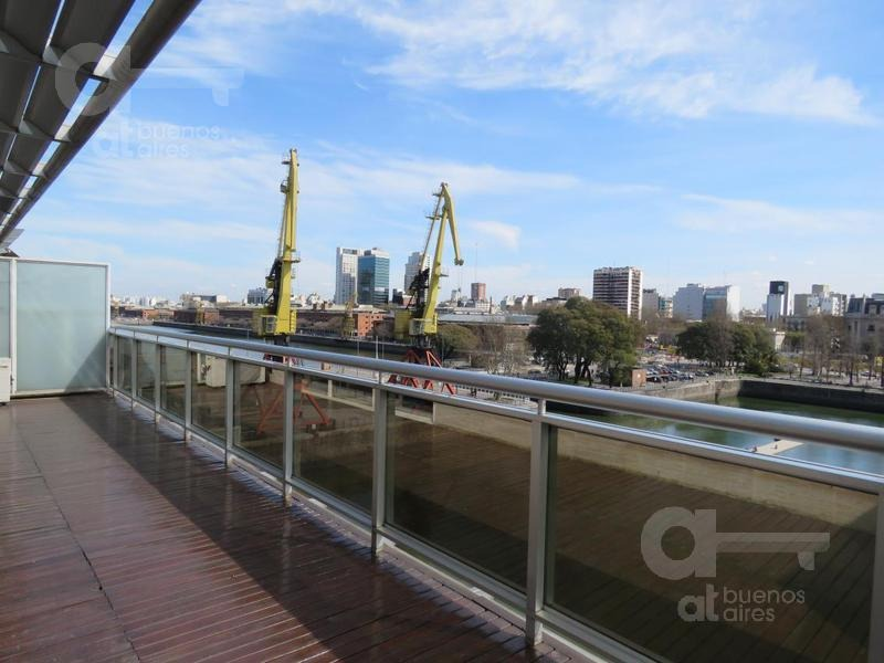 puerto madero-departamento 2 ambientes-balcón terraza- venta