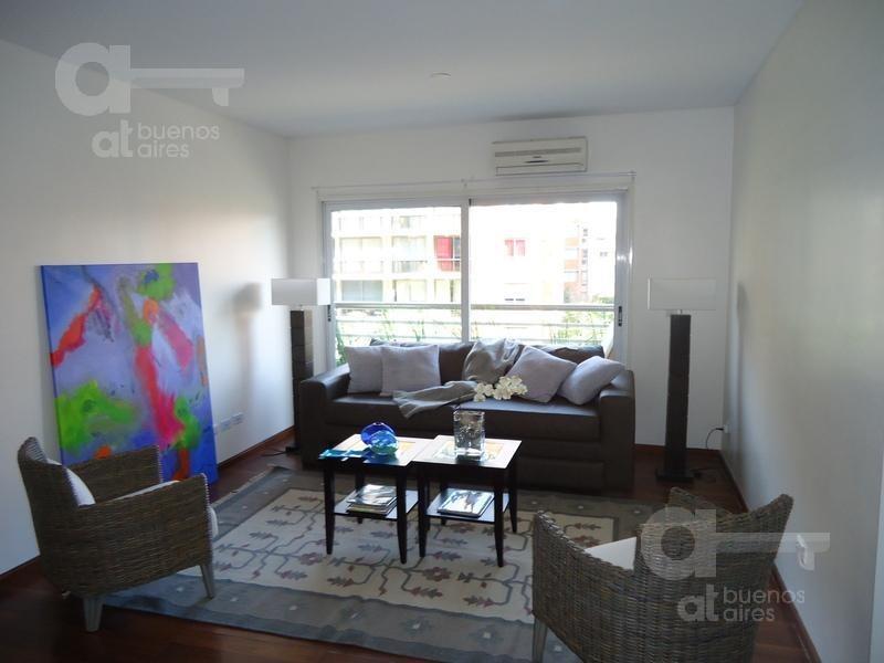puerto madero, departamento 2 ambientes con balcón y amenities,  alquiler temporario sin garantía!
