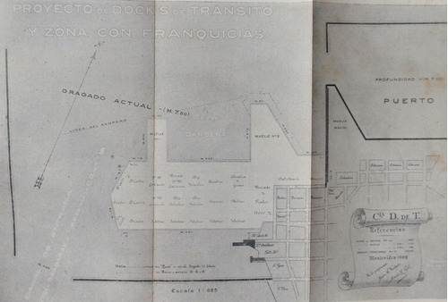 puerto montevideo errores sobre errores 1909 bayley obras