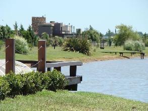 puerto roldán barrio cerrado venta lote 1200 m2 - gazze