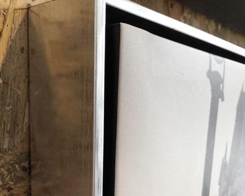 puerto tipo oleo abstracto, cuadro decorativo en canvas