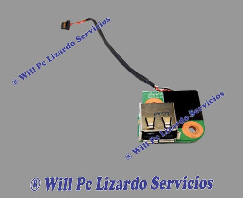 puerto usb (interno-aux ) para portatil hp dv9000