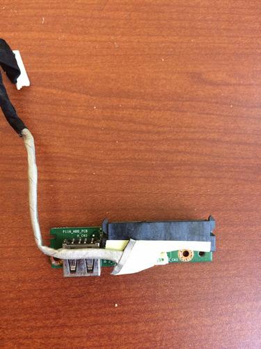 puerto usb y lector de disco duro blue light 2011b