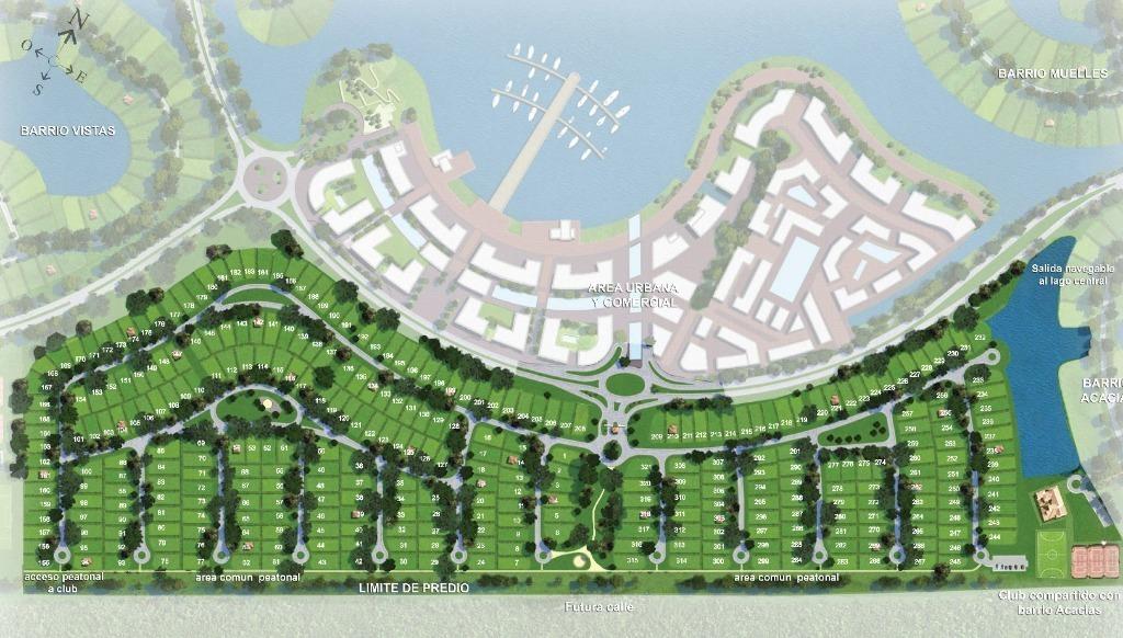 puertos - barrio araucarias  - escobar - terrenos/fracciones/loteos terrenos - venta