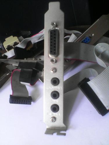 puertos paralelo,vga,serial,sonido, otros (usados)