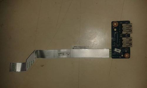 puertos usb laptop hp 15