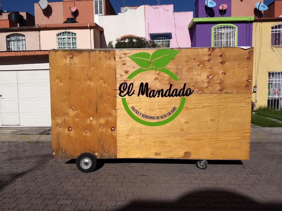puesto de madera ideal para ambulantaje 4x3x2 soporta 1700kg