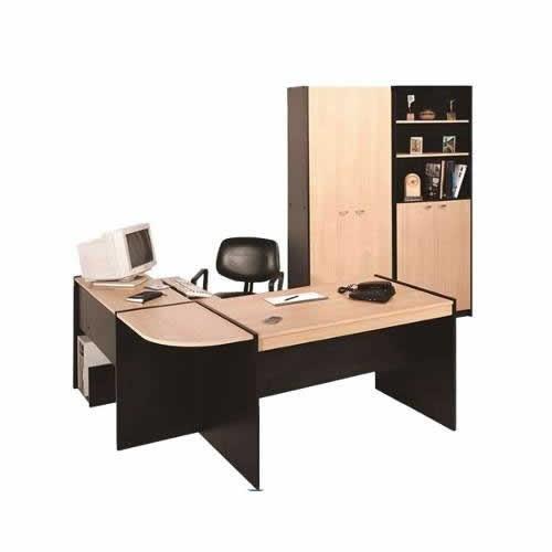 puesto de trabajo platinum escritorio + biblioteca + compu
