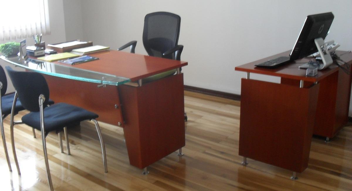 Escritorio Oficina Madera.Puesto Trabajo Gerencial Escritorio Oficina Madera Mueble 1 648