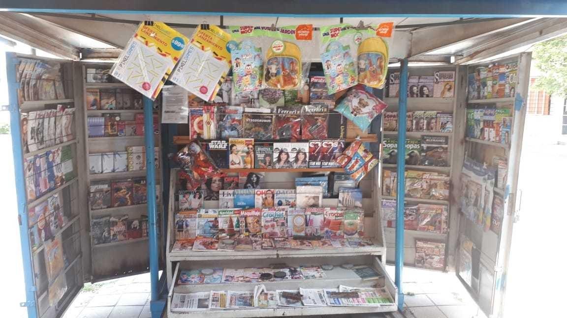 puesto y reparto de diarios excelente ubicación
