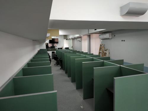 puestos de call center / puestos de trabajo acústicos