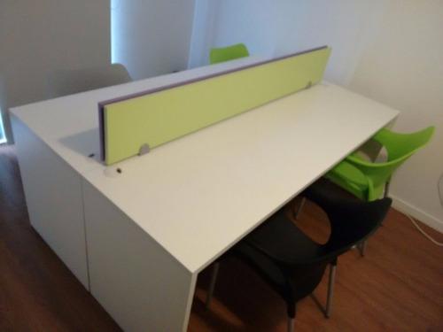 puestos de trabajo isla escritorios para oficina