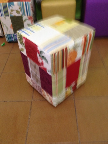pufes patchwork