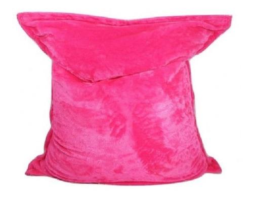 puff almofada pelúcia almofadão diversas posições ( vazio )