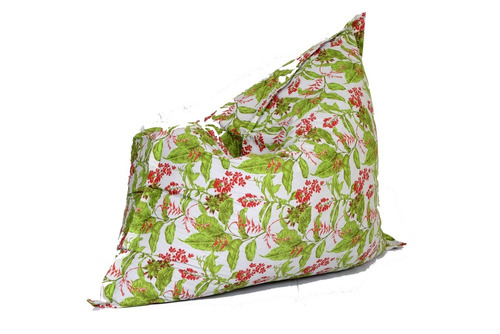 puff almofadão acquablock verde floral 003